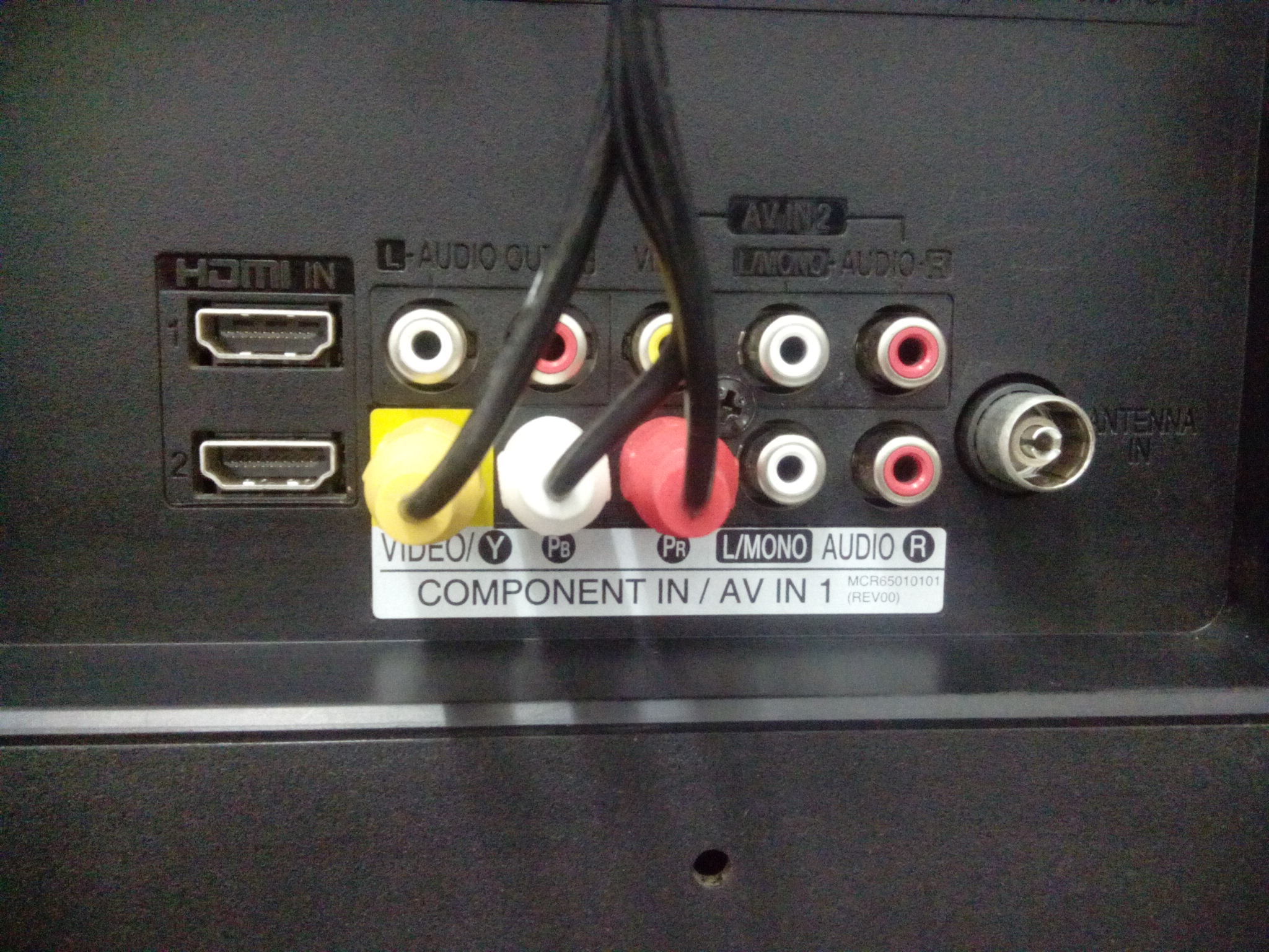 How to use the component video on your TV with DVD Player or decoder ...