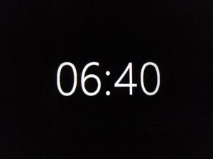 lumia-640-clock