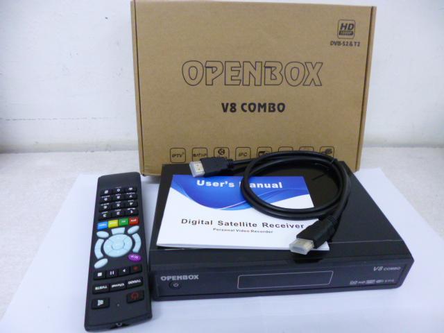 Openbox V8 Combo decoder review – DVBS2 + DVBT2