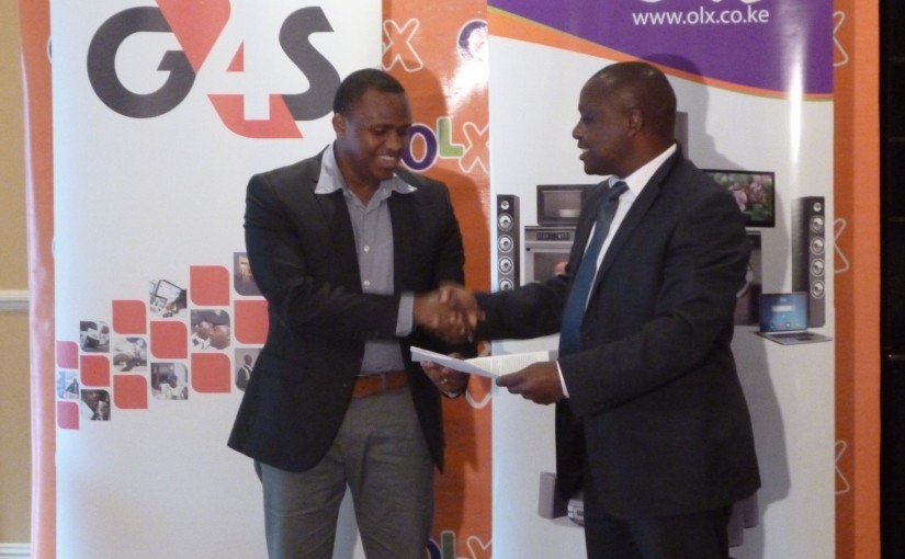 olx-country-manager-peter-ndiangui-with-g4s-secure-logistics-director-geoffrey-mwove-kenya