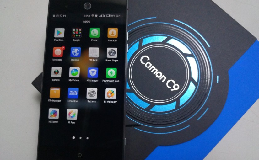 The Tecno Camon C9 Review; More Than A Selfie Phone