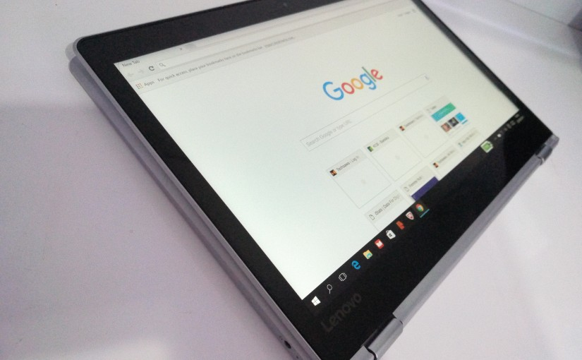 Lenovo Yoga Laptop/Tablet Review