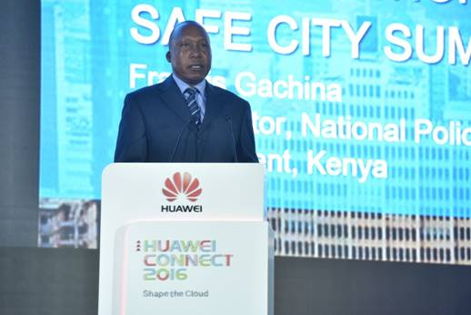 Huawei Launches Safe City Integrated Communication Platform