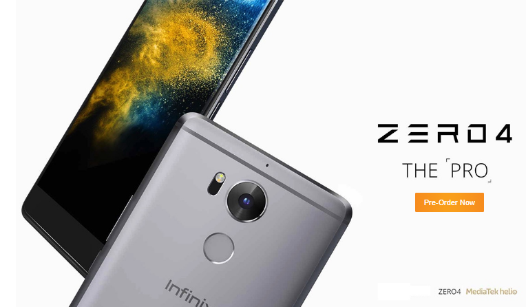 The Infinix Zero 4 Is Now Available On Pre-Order, Specs Revealed