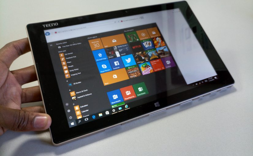 The TECNO Winpad 2, The Mobile Office Assistant