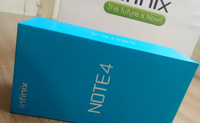 Checking Out The New Infinix Note 4, Unboxing And Specs