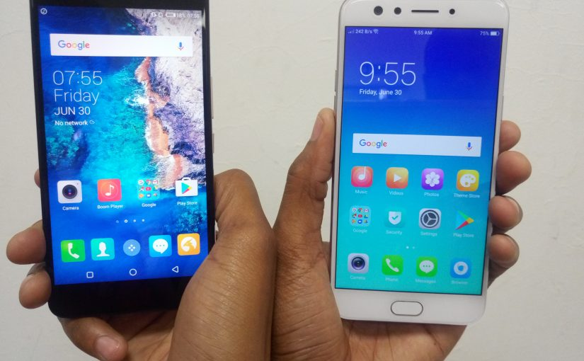 The Tecno Camon CX Vs. OPPO F3, Camera Smartphone Battle