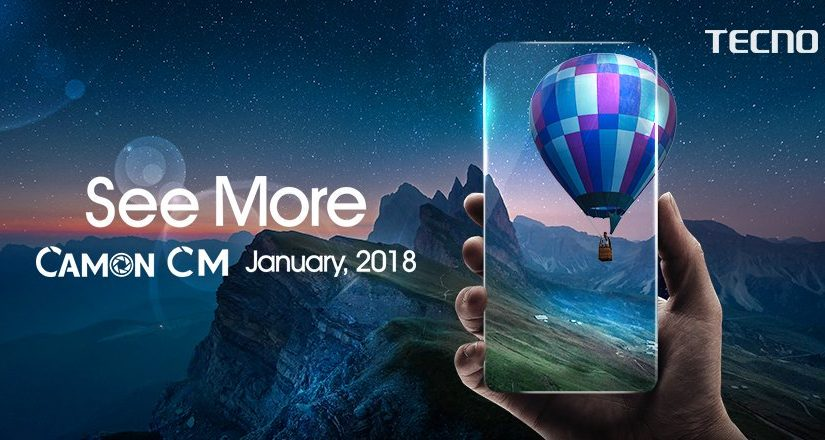 TECNO Mobile set to launch The First Full Screen Smartphone, Tecno Camon CM