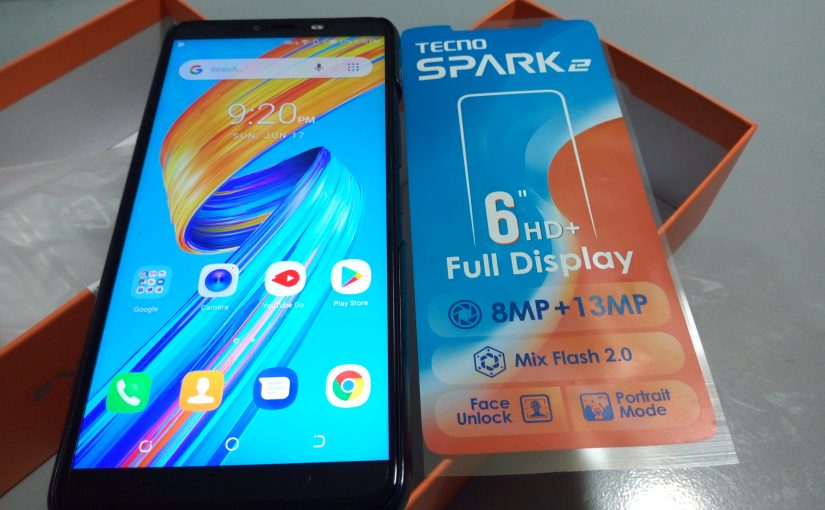 The Tecno Spark 2 Unboxing, Specs And Features