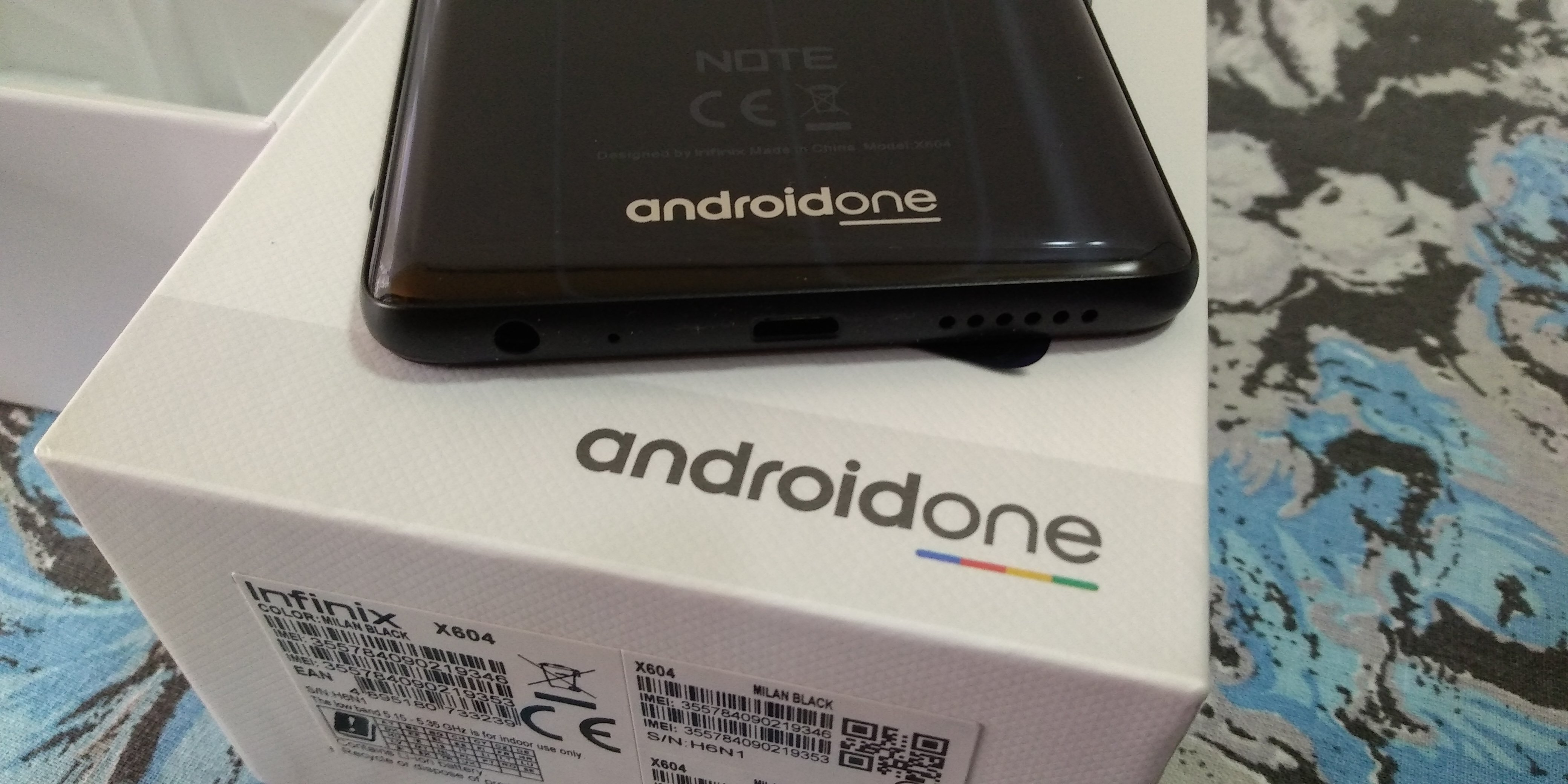android-one-infinix-note-5