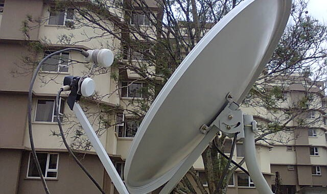 One 65cm Dish, Two LNBs And 3 Satellites Received