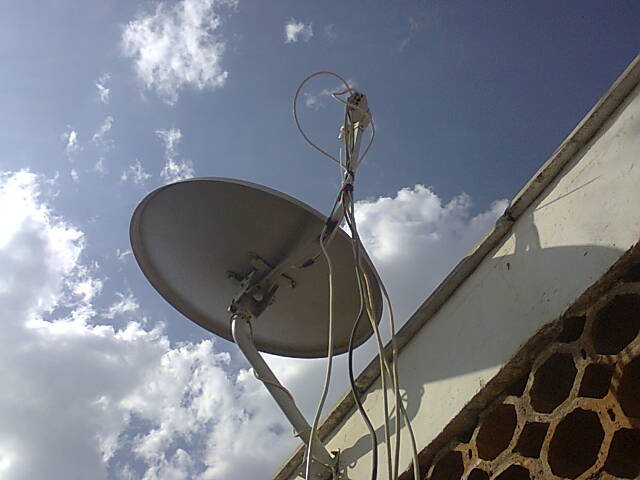 The problem with Dstv community dishes and my solution