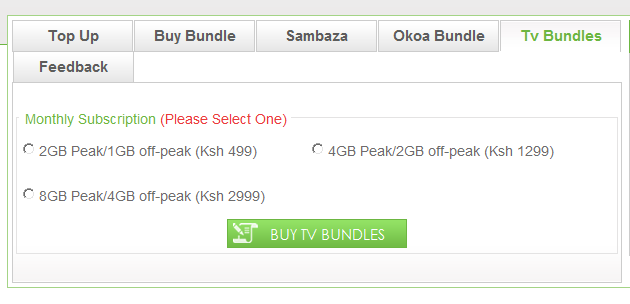 Safaricom Digital Decoder, The big box what to expect plus what are TV bundles