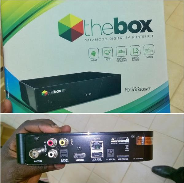 The Big Box, an android powered Safaricom decoder