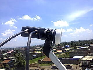 Reason Why Zuku Uses Twin LNB Connected Using Two Cables To One Decoder