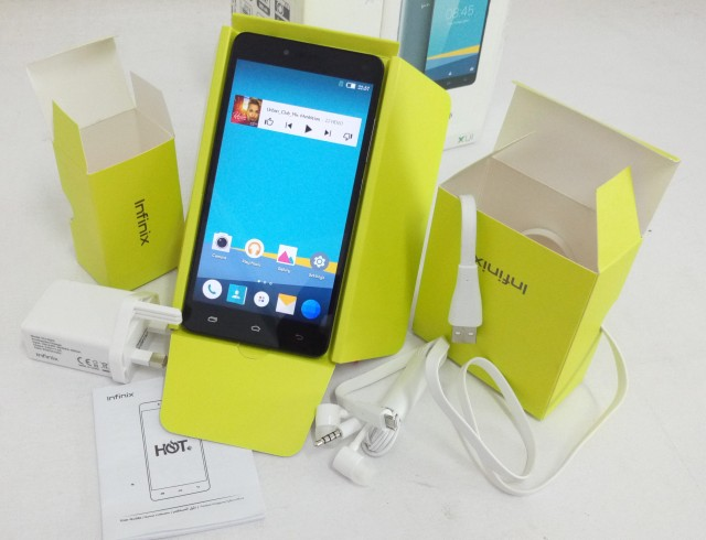 The New Infinix Hot 3 Review
