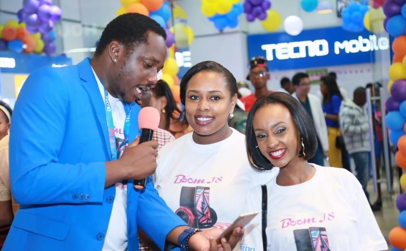 How The Tecno Boom J8 Launch Party Went Down