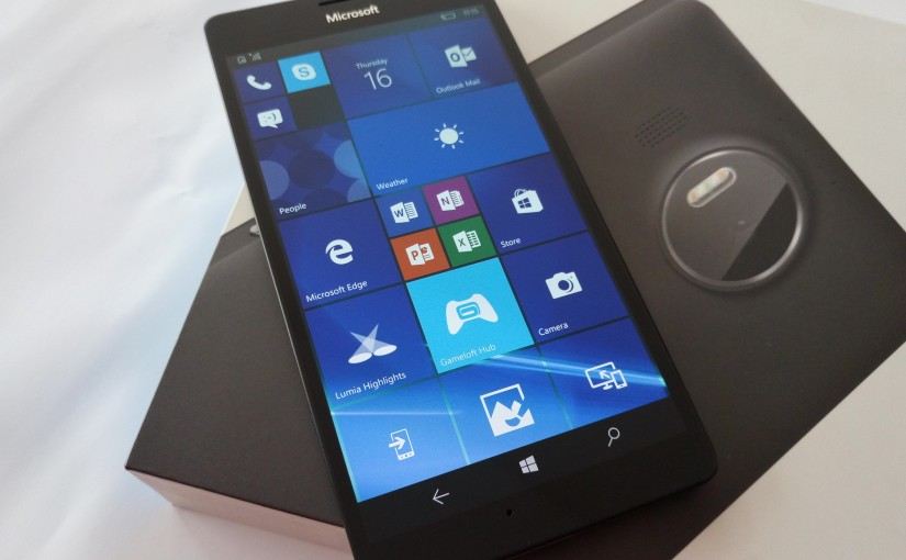 Microsoft Lumia 950XL Review