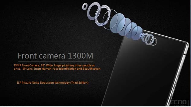 TECNO Camon C9 To Have A 13MP Front Camera