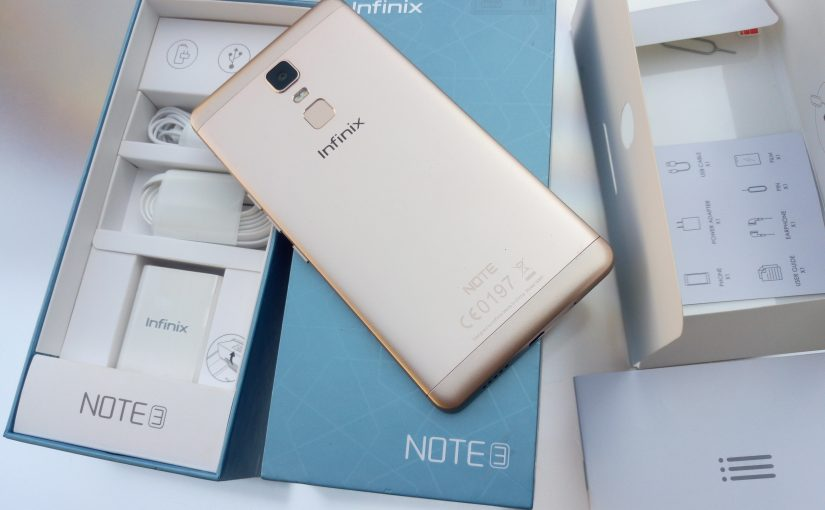 Infinix Note 3 (X601) Unboxing And Quick Specs Overview
