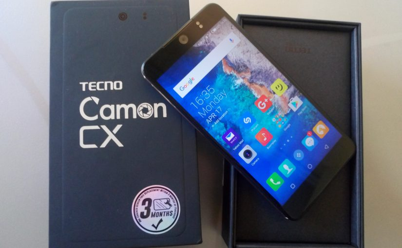 Tecno Camon CX Unboxing And First Impressions - Techsawa