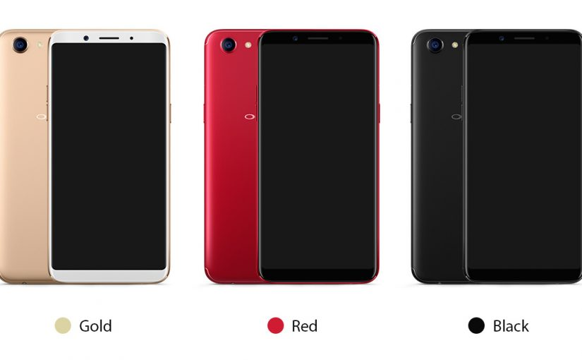 OPPO F5 YOUTH unveiled earlier than expected and up for pre