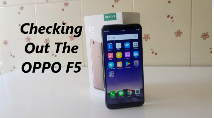 OPPO F5 Starts selling in Kenya Officially