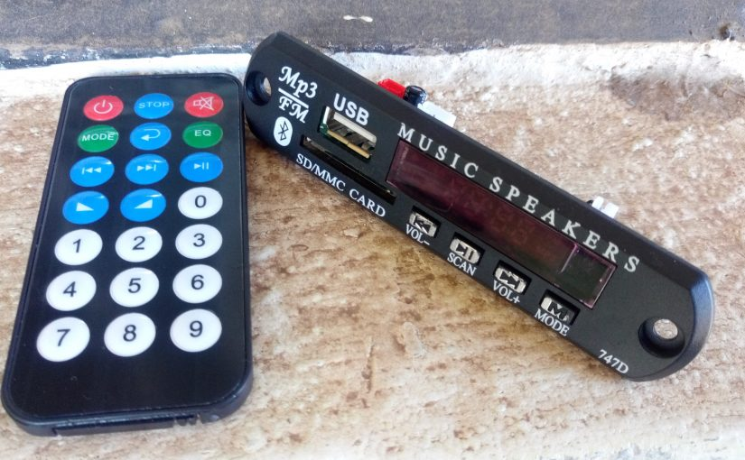 The Simple DIY Bluetooth Music System