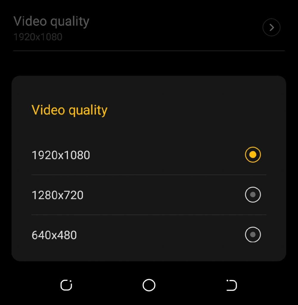 video-quality-tecno-camon-x-pro