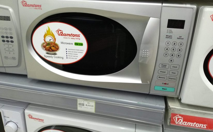Matching The Correct Brand And Size Microwave Oven With Your Budget