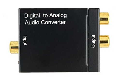 The Optical To RCA Audio Converter