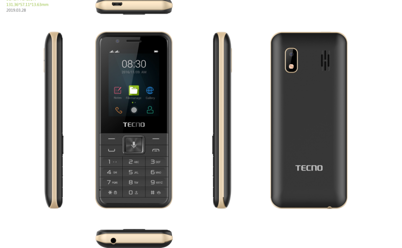 The T901, A TECNO Feature Phone Running On KaiOS