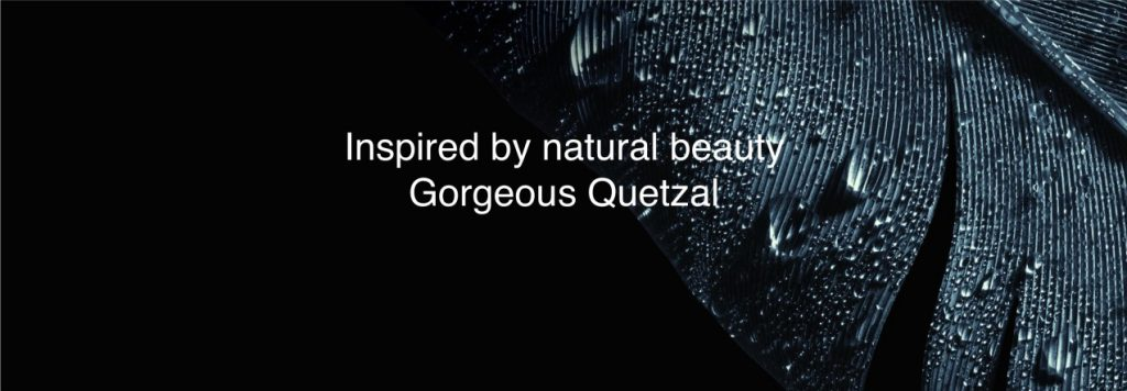 S5 design is inspired by the elegant Quetzal bird