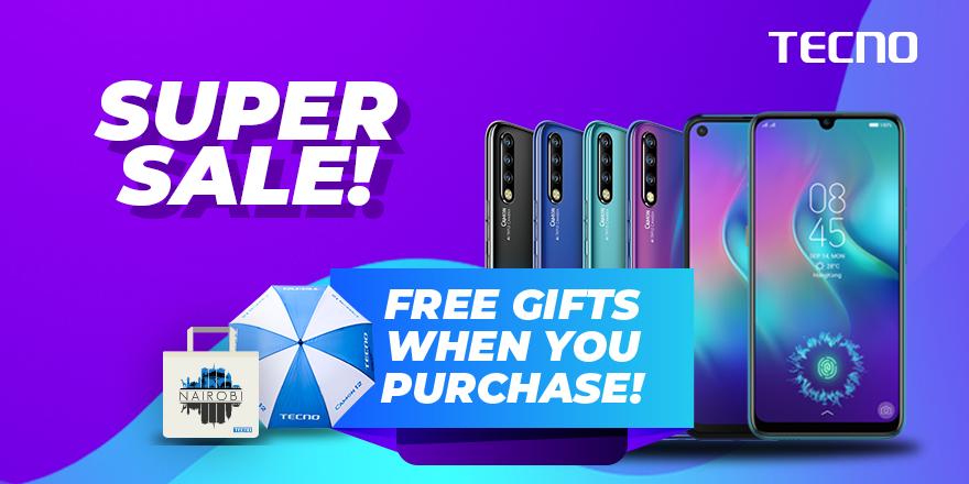Tecno smartphone sale