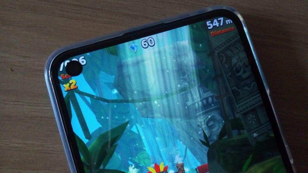 Infinix S5 camera dot screen blocking the game score