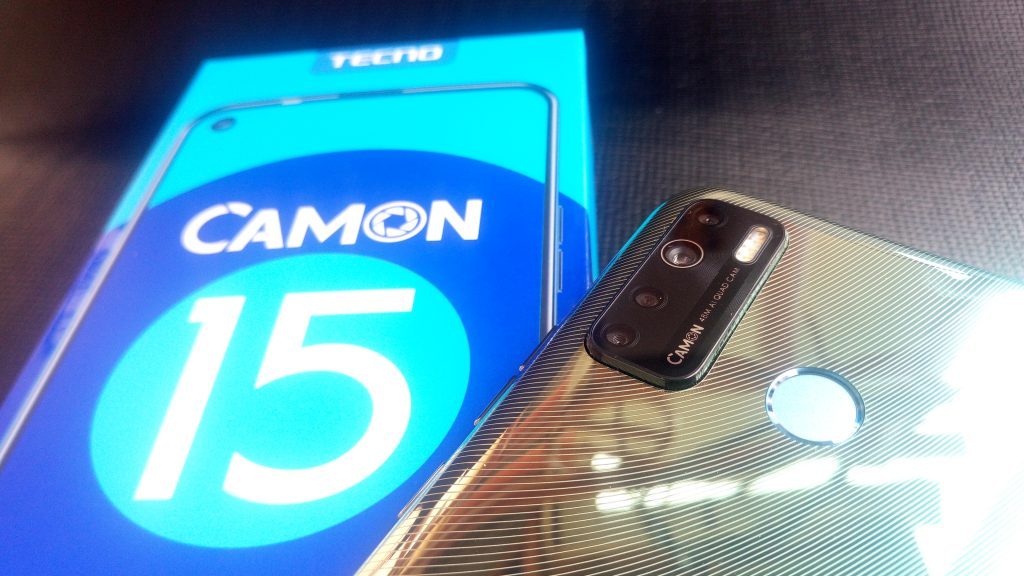 tecno camon 15 quad camera setup