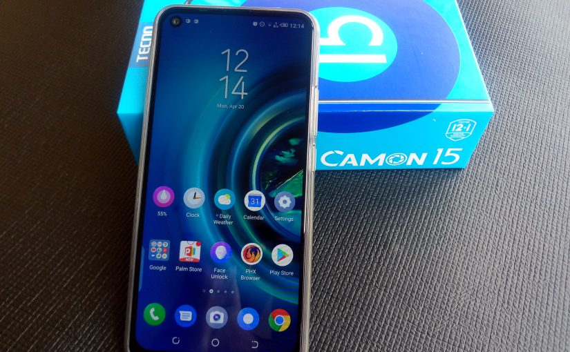 Tecno Camon 15 Has A Dot In Display Camera With Front Flash