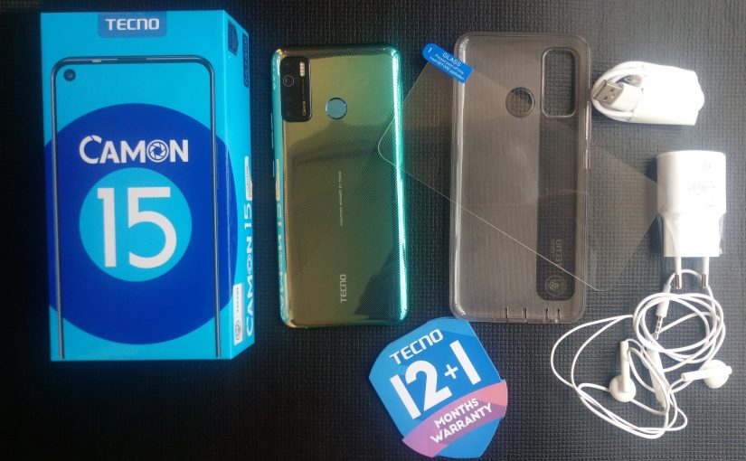 Tecno Camon 15 Unboxing, Specifications And Price