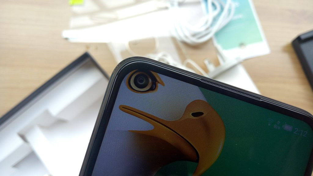 Infinix Note 7 Front Dot In Display Camera
