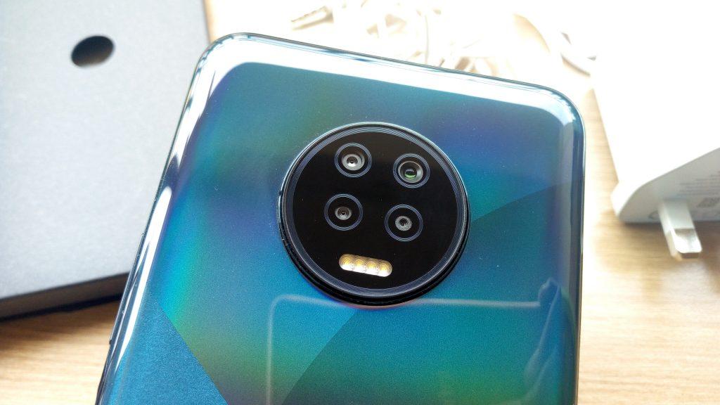 Infinix Note 7 Quad camera setup