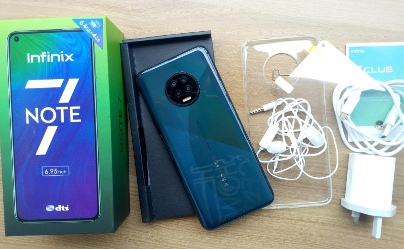 Infinix Note 7 Video Unboxing