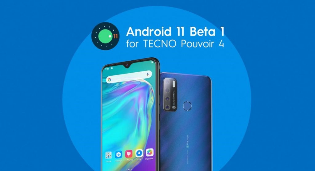 Android 11 Beta for Pouvoir 4