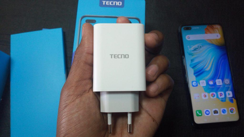 33 Watt Tecno Camon 15 Premier's charger