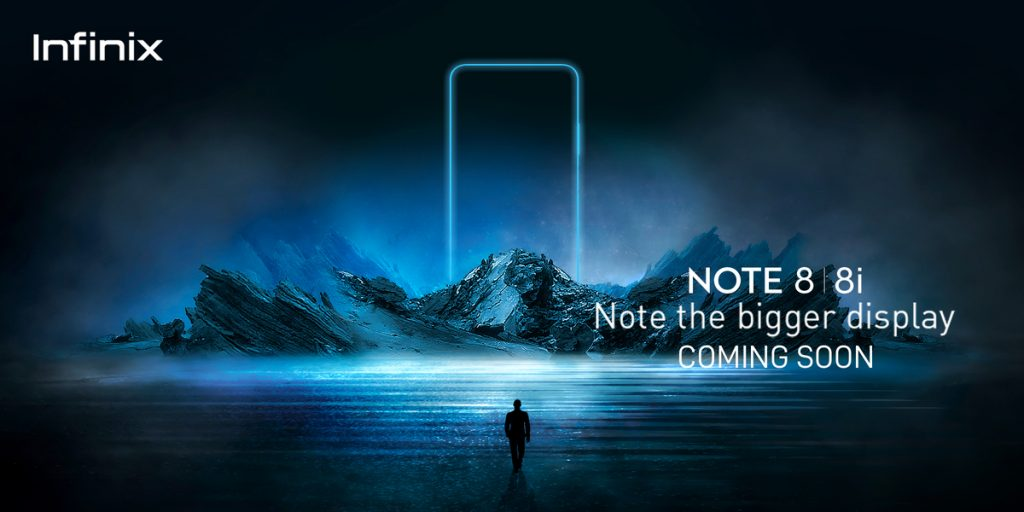 Infinix Note 8 big display