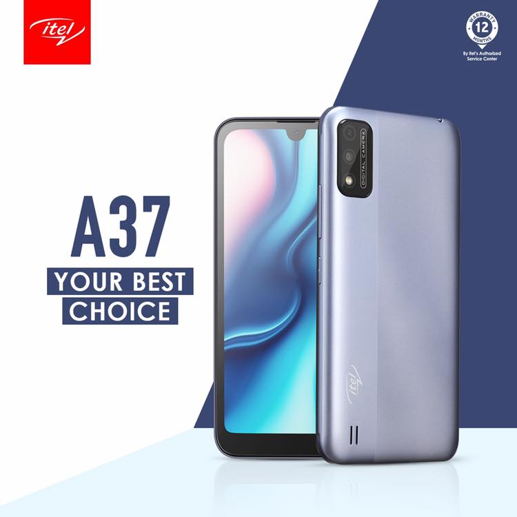 itel A37 your best smartphone