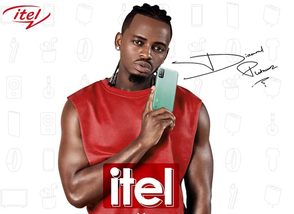 itel Announces Diamond Platnumz As Its Brand Ambassador And Introduces Its Latest Smartphones A37 To The African Market