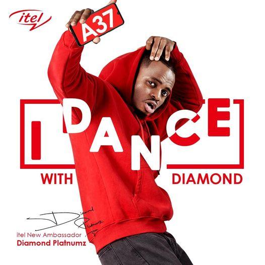 Itel I dance with diamond