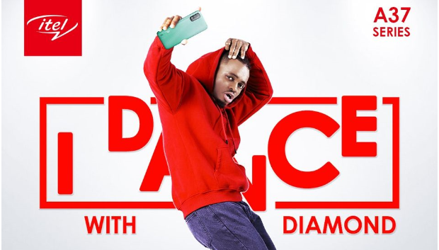 itel I dance with Diamond Competition Poster