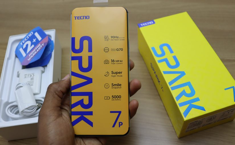 Tecno Spark 7P Unboxing And Full Specifications