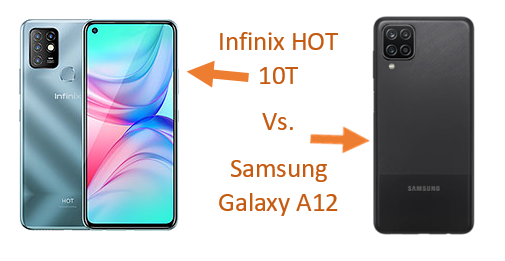 Infinix HOT 10T Vs. Samsung Galaxy A12, Spec & Price Comparison